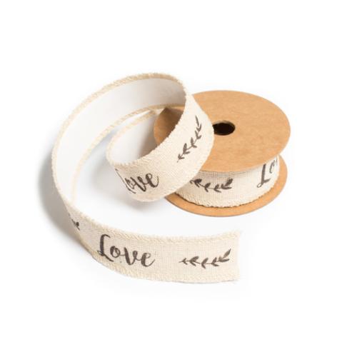 RUBAN ADHESIF LIN LOVE 2.5CMX2