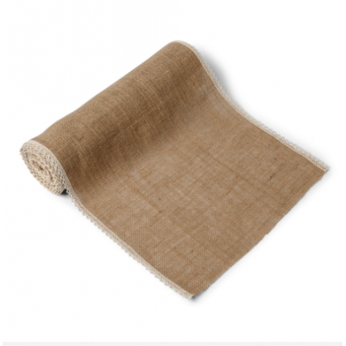 CHEMIN DE TABLE JUTE 36CM X5M