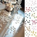 Perle de pluie / paillettes / confettis de table
